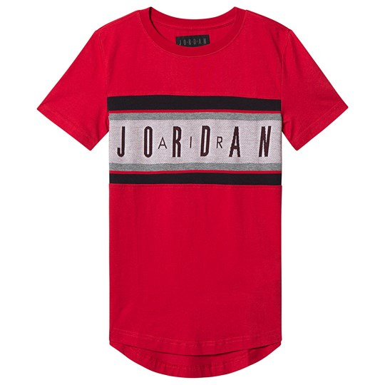 Air Jordan Air Jordan Jacquard T-Shirt Red R78