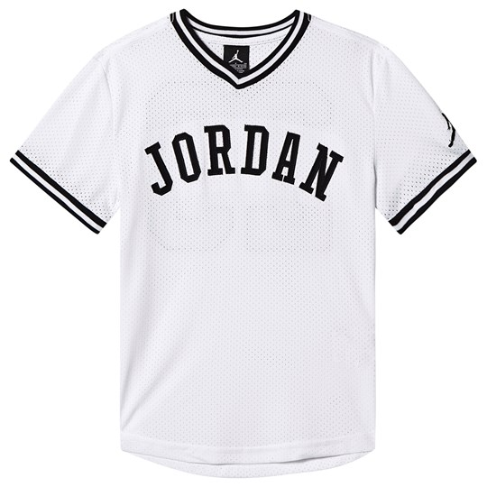 Air Jordan Jumpman Air Mesh T-shirt White 001