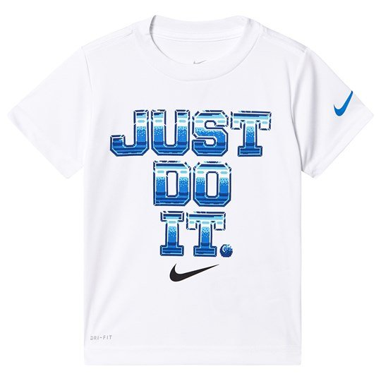 NIKE Just Do It Retro Tee White 001