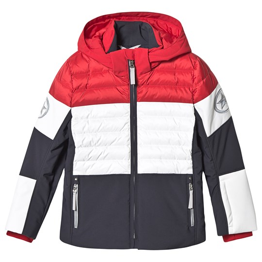 Bogner Deli-D Ski Jacket Navy/Red/White