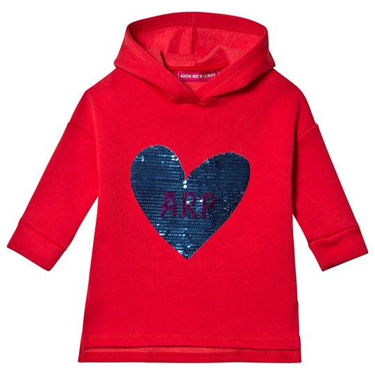 Agatha Ruiz de la Prada Star Dust Sweat Dress Red 3839/10