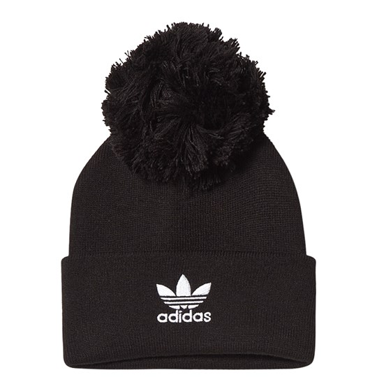 adidas Originals AC Bobble Knit Beanie Black Black