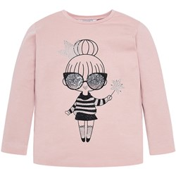 Mayoral Langærmet Fairy Girl T-shirt Pink