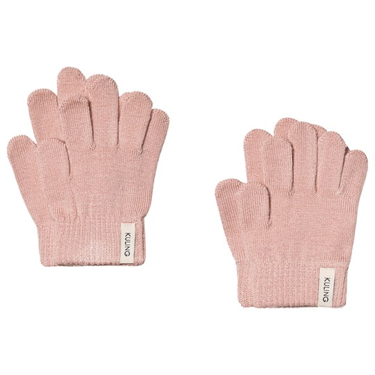 Kuling 2-Pack Wool Gloves Pink