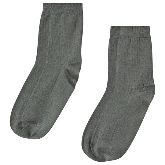 Kuling 2-Pack Wool Socks Green