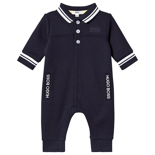 BOSS Branded Polo One-Piece Navy 849