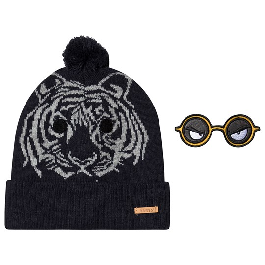 Barts Tiger Face Canute Beanie Navy 03
