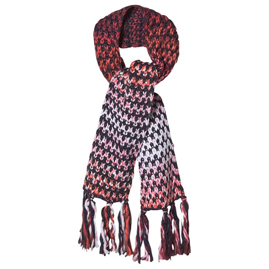 Barts Nicole Knit Scarf Navy/Pink 03