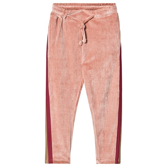 Petit by Sofie Schnoor Roxy Velour Pants Rose Multi