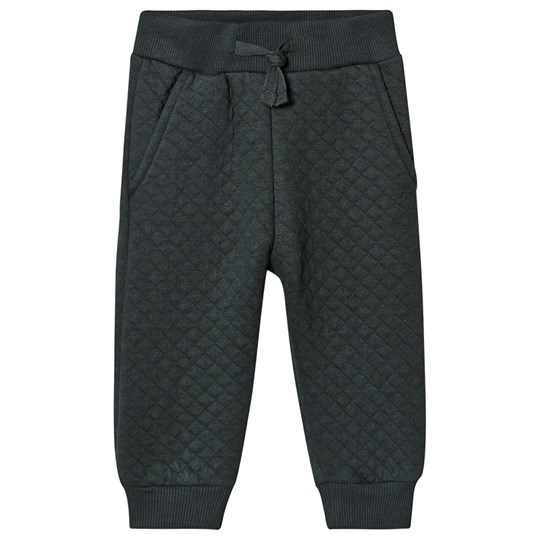 Petit by Sofie Schnoor Quilted Sweatpants Dark Green dark green