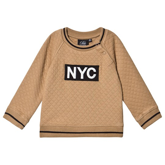 Petit by Sofie Schnoor Quiltet NYC Sweater Tan Tan