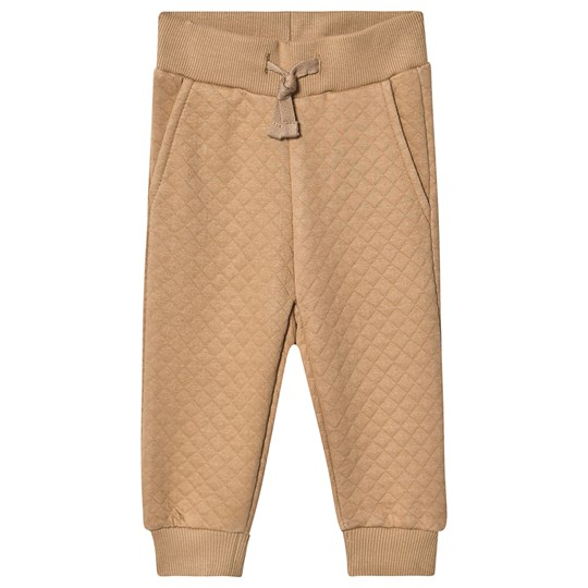 Petit by Sofie Schnoor Quilted Sweatpants Tan Tan