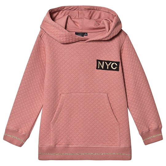 Petit by Sofie Schnoor Quilted NYC Hoodie Dusty Rose Dusty Rose