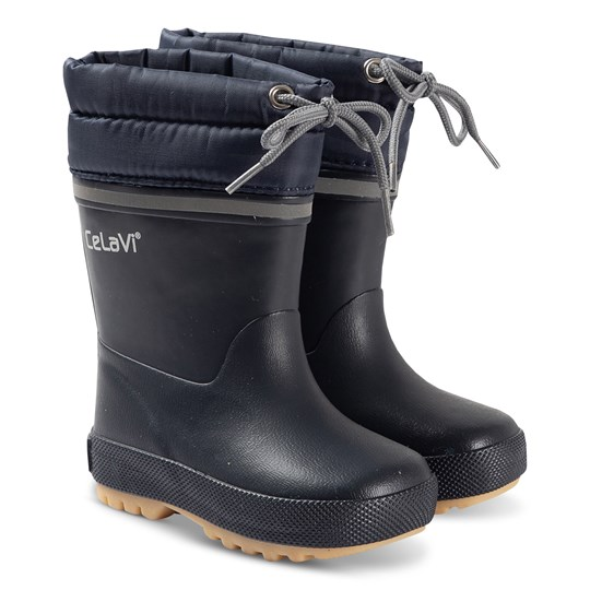 Celavi Thermal Rain Boots Navy Navy