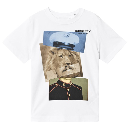 Burberry Lion Collage T-Shirt White White