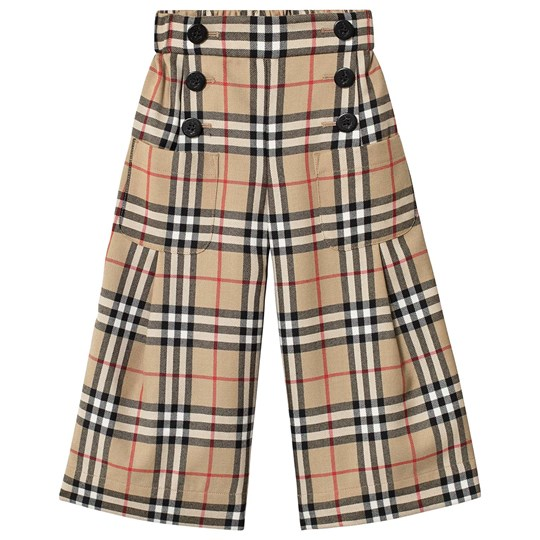 Burberry Vintage Check Sailor Pants Archive Beige ARCHIVE BEIGE IP CHK