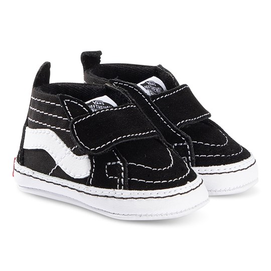 Vans Sk8-Hi Crib Shoes Black 6BT1