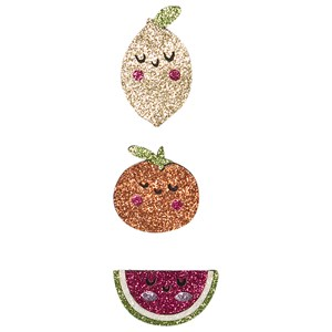 Image of Ciao Charlie 3-Pack Glitter Fruit Hair Clips One Size (1389460)