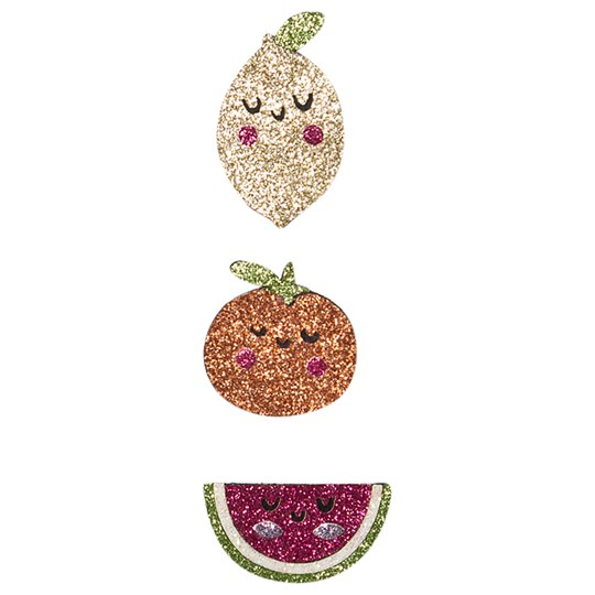 Ciao Charlie 3-Pack Glitter Fruit Hair Clips