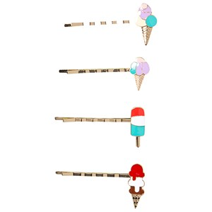 Image of Ciao Charlie 4-Pack Ice Cream Hair Clips One Size (1389464)