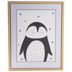 Image of FORM Living Penguin Poster with Frame One Size (1317779)