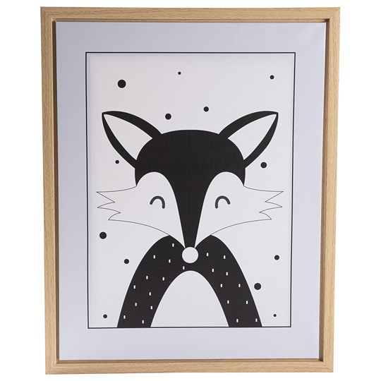 FORM Living Fox Poster with Frame