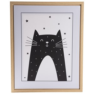 Image of FORM Living Cat Poster with Frame One Size (1317778)