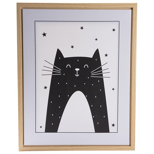 FORM Living Cat Poster with Frame