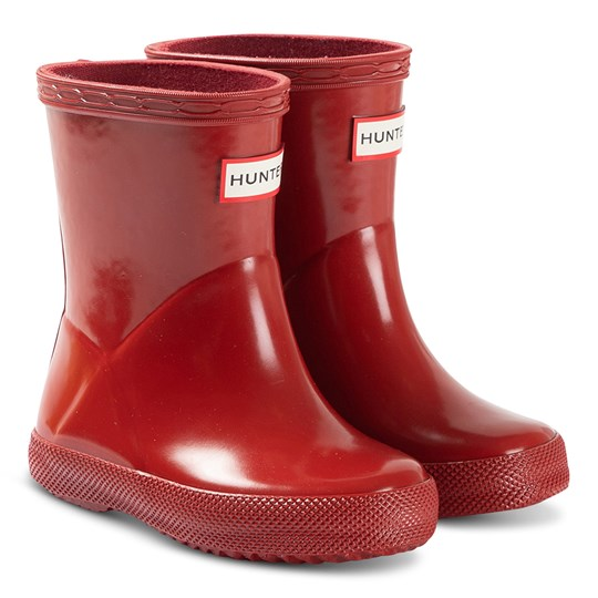 Hunter Kids First Classic Rain Boots Military Red Military Red