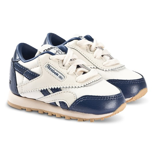 Reebok Reebok x The Animals Observatory Classic Nylon Sneakers Blue and White blue/white/gum