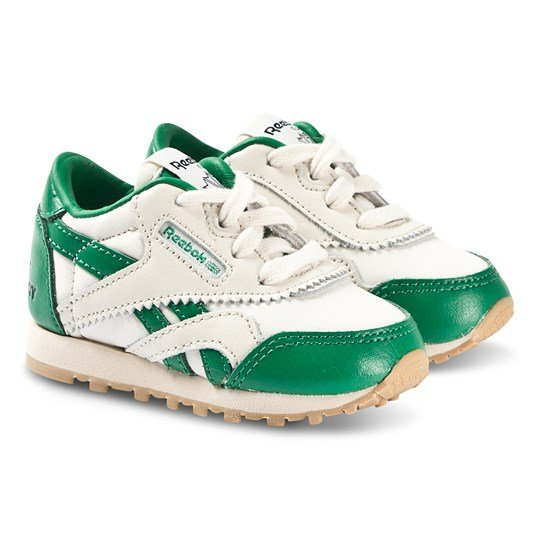 Reebok Reebok x The Animals Observatory Classic Nylon Sneakers Green and White green/white/gum