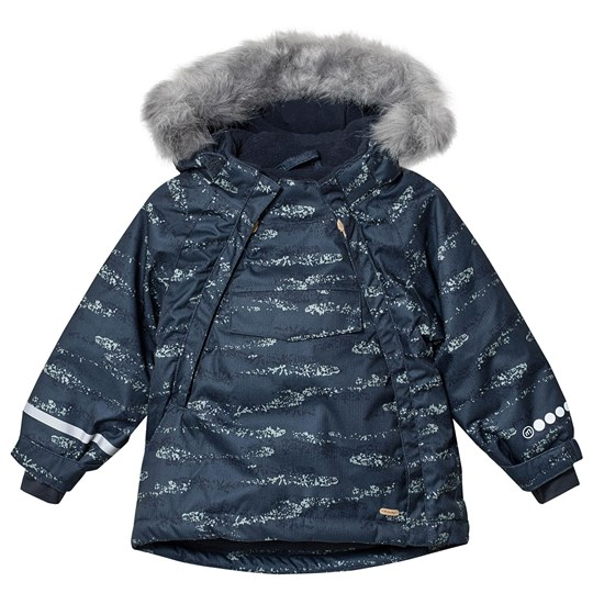 Minymo Toddler Jacket Ombre Blue ombre blue