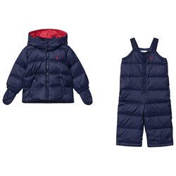Ralph Lauren Overalls and Jacket Set Navy