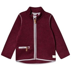 ebbe Kids Dash Fleece Jacket Dark chili