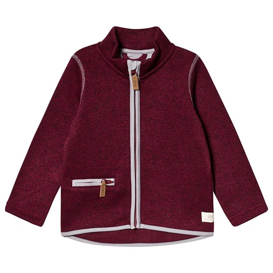 ebbe Kids Dash Fleece Jacket Dark Chili Dark Chili