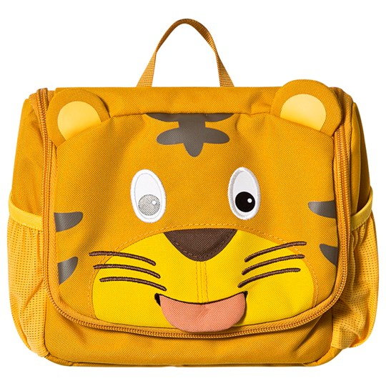 Affenzahn Toiletry Bag Timmy Tiger Yellow Timmy Tiger