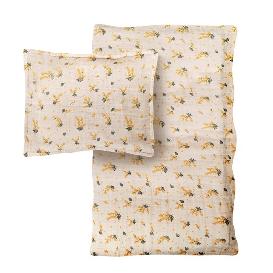 garbo&friends Mimosa Bed Set Adult 150 x 210 Ivory
