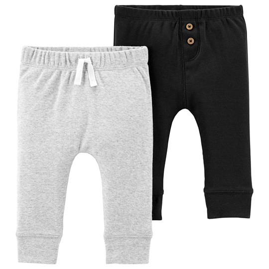 Carter's 2-Pack Cotton Pants Black/Heather HEATHER (053)