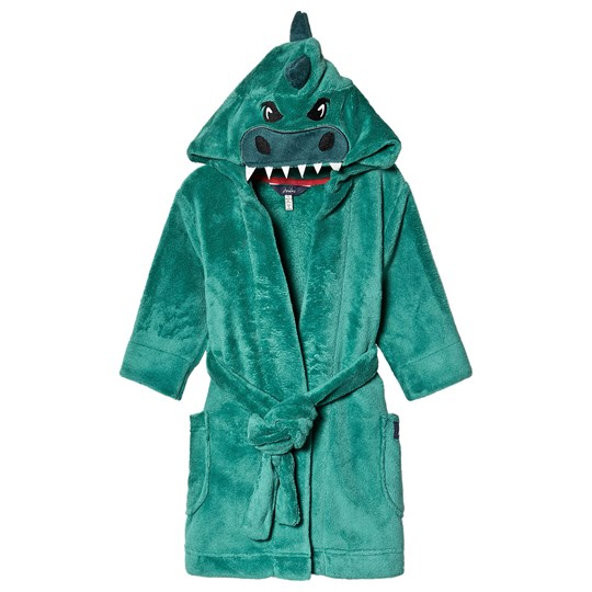 Tom Joule Dino Bath Robe Green Turtle Green