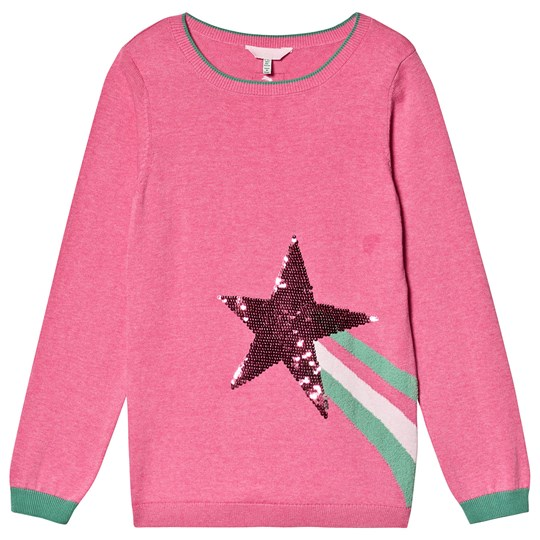 Tom Joule Shooting Star Miranda Knitted Sweater Pink BLOSSOM PINK SHOOTING STAR