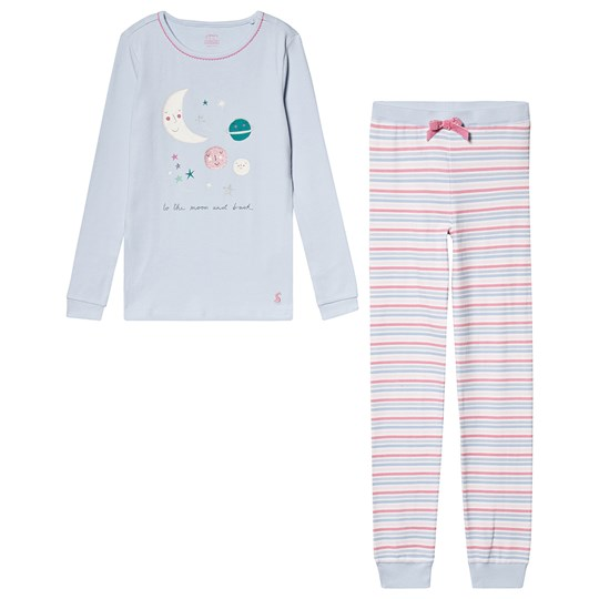Tom Joule Moon Pajamas Blue Blue Moon and Back