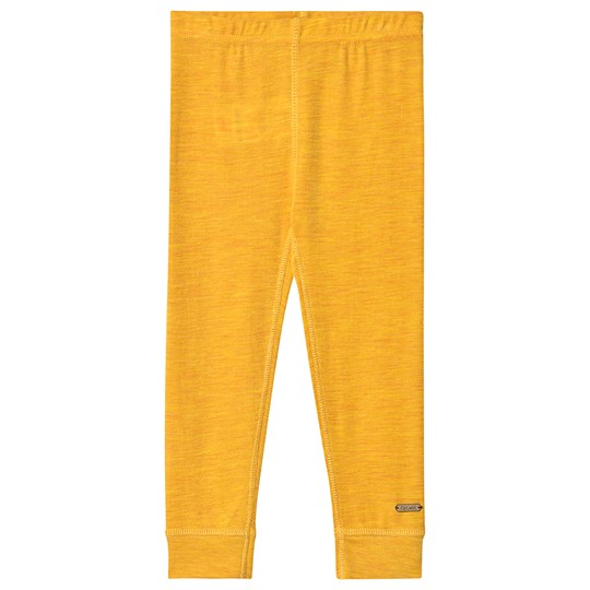 Celavi Wool Leggings Yellow Mineral Yellow