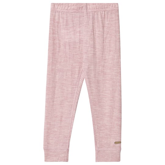 Celavi Ull Leggings Rosa Starling