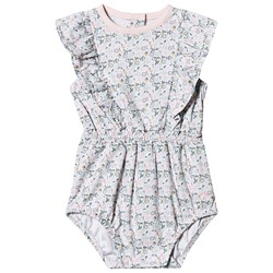 Livly Floral Lilly Romper Pink