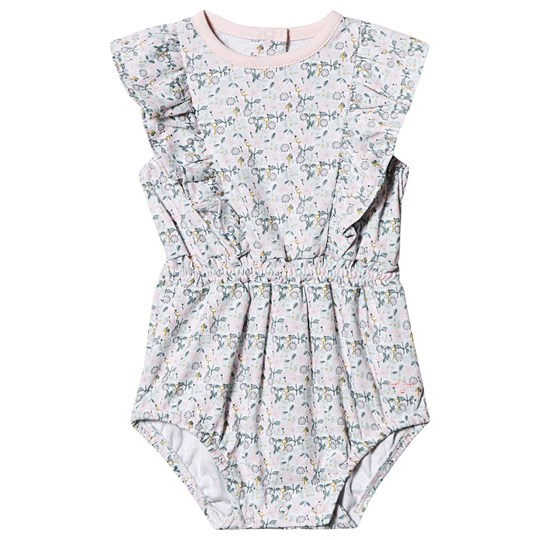 Livly Floral Lilly Romper Pink Liberty Floral Mini
