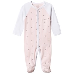 Livly Little Bunny Simplicity Footed Baby Body Pink
