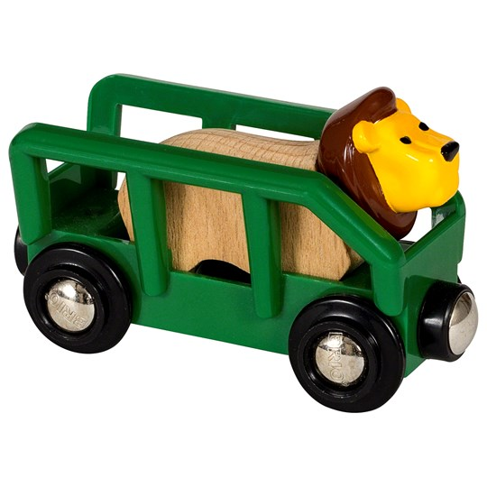 BRIO BRIO® World - 33966 Lion and Wagon Yellow