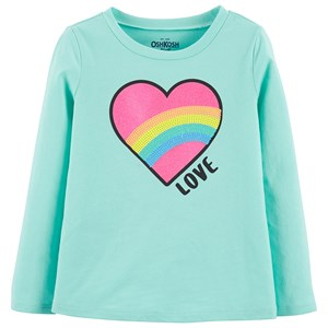 Image of OshKosh Heart T-shirt Blå 2 år (1453230)