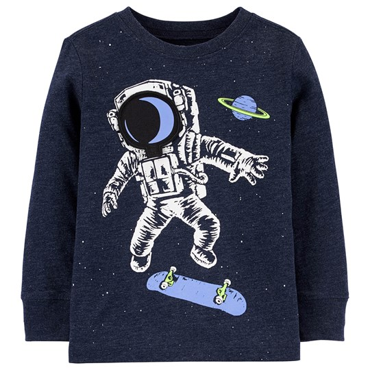 OshKosh Astronaut Grafisk T-shirt Deep Navy BLUE (420)
