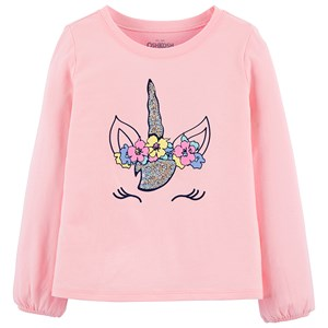 Image of OshKosh Unicorn T-shirt Pink 2 år (1453268)